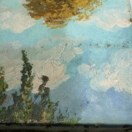 Berghauer Detail während Reinigung