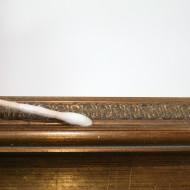 Rahmen Berghauer - Detail während Reinigung