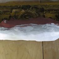Rahmen Sass - Detail Gipsform