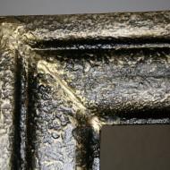 Rahmen Scharlott - Detail während Retusche