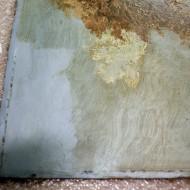 Scharlott - Detail während Firnisabnahme 2