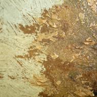 Scharlott - Detail Vorzustand Malschichtverlust