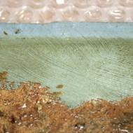 Scharlott - Detail Vorzustand vergilbter Firnis - 2