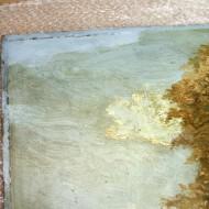 Scharlott - Detail während Firnisabnahme 5